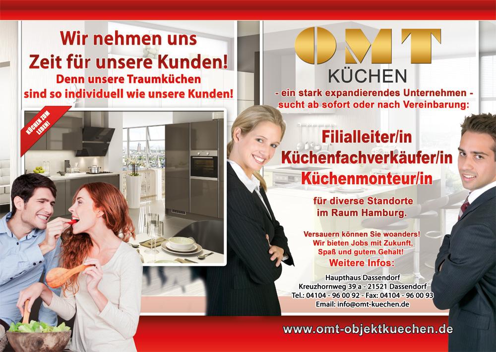 Jobs und Karriere bei OMT Küchen Hamburg